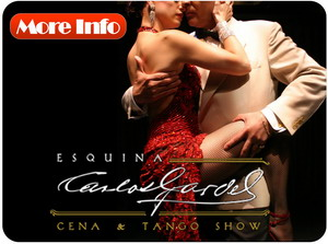 Buenos Aires Tango Show see all about Esquina Carlos Gardel