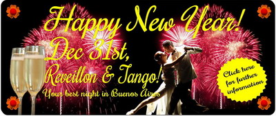 New Year's Eve Tango Show in Buenos Aires