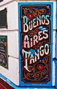 Bravo! The decorative unique style of Buenos Aires named 'Fileteado' was awarded as Cultural Heritage of Humanity by Unesco.