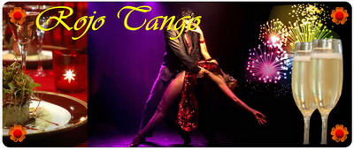 New Year's Eve Rojo Tango show in Buenos Aires reveillon dinner