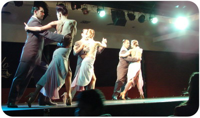 Catulo Tango Show dance of Tango in traditional style