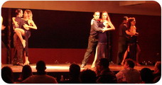 Catulo Tango show in Buenos Aires three couples of Tango