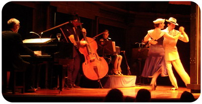 Tickets for Tango show in Buenos Aires El Querandi dancers with orchestra