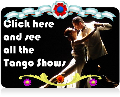 Tango dinner show in Buenos Aires