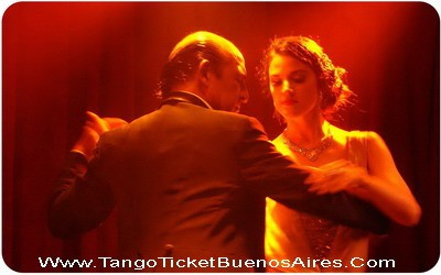 Rojo Tango Show Buenos Aires Tango star on the stage