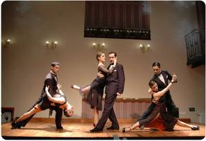 Dancers of Tango Dinner Show in Buenos Aires Complejo Tango