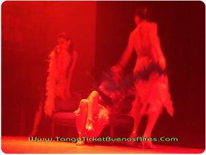Sensuality at Tango Dinner Show in Buenos Aires Complejo Tango