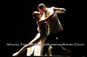 Dancers of Esquina Carlos Gardel Tango Dinner Show in Buenos Aires